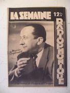 La Semaine Radiophonique N°51 > 18.12.1949 > Maurice Baptissard - Michel Carvez - 42 Pages - Theatre