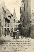 CPA - BRIVE (19) - Aspect De La Rue De Puy-Blanc Au Début Du Siècle - Brive La Gaillarde