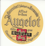 Etiquette De Fromage Camembert Augelot Buquet - Cheese