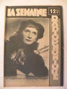 La Semaine Radiophonique N°8 > 20.2.1949 > Jacqueline Morane - José Lucchesi - 33 Pages - Theatre