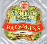 NEW UNUSED - BATEMANS BREWERY (WAINFLEET, ENGLAND) - COMBINED HARVEST (1) - PUMP CLIP FRONT - Signs