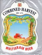 NEW UNUSED - BATEMANS BREWERY (WAINFLEET, ENGLAND) - COMBINED HARVEST (2) - PUMP CLIP FRONT - Signs