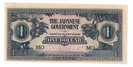Malaya Japanese Occupation 1 Dollar 1941 UNC .C. - Malesia