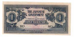 Malaya Japanese Occupation 1 Dollar 1941 UNC .C. - Malaysia