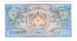 Bhutan 1 Ngultrum 1981 UNC .C. - Bhutan