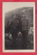 219827 / WAR MILITARY - MEN SOLDIERS UNIFORM ,  Bulgaria Bulgarie Bulgarien Bulgarije - War, Military