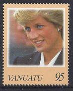 Vanuatu 1998  Princess Diana  (**) MNH - Vanuatu (1980-...)