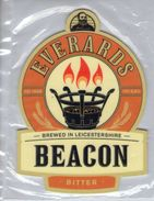 NEW UNUSED - EVERARDS BREWERY (NARBOROUGH, ENGLAND) - BEACON BITTER - PUMP CLIP FRONT - Signs