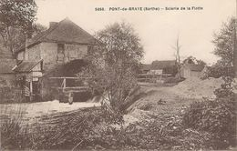 CPA Pont-de-Braye Scierie De La Flotte - Andere Gemeenten