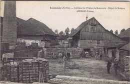 72 - Ecommoy (Sarthe) - Intérieur De L'usine De Bezonnais - Dépôt De Briques (Desnos Frères) - Ecommoy