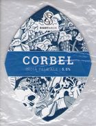 NEW UNUSED - EIGHT ARCH BREWING CO (WIMBORNE, ENGLAND) - CORBEL IPA - PUMP CLIP FRONT - Signs