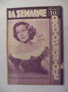 La Semaine Radiophonique N°46 > 14.11.1948 > Renée Lamy - Henri Garden - 33 Pages - Books, Magazines, Comics