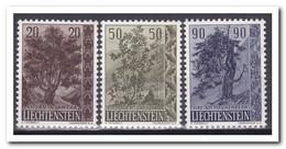 Liechtenstein 1958, Postfris MNH, Trees - Liechtenstein