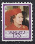 Vanuatu 1986  Queen Elizabeth II  (**) MNH - Vanuatu (1980-...)