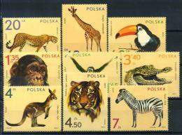 Polonia 1972 Mi. 2162-2170 Nuovo ** 80% Animali, Zoo - 1944-.... Republic