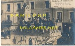 34 // MONTPELLIER  / Carte Photo /    Carnaval 1924  / Char La Tour De Londres - Montpellier