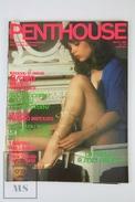 Vintage 1981 Men's Magazine - Penthouse Spanish Edition Nº 38 - Nude Poster Inside. - [2] 1981-1990