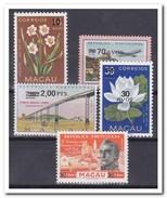 Macau 1979, Postfris MNH, Flowers, Aeroplane - 1999-... Speciale Bestuurlijke Regio Van China