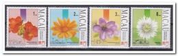 Macau 1993, Postfris MNH, Flowers - 1999-... Speciale Bestuurlijke Regio Van China