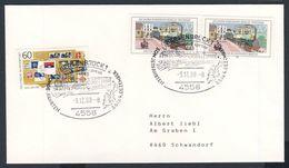 Deutschland Germany 1988 Cover / Brief / Lettre - Nikolaus Express, Sonderfahrten - Bersenbrück / - Treinen
