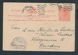 Victoria -Ganzsache   (t5607 ) Siehe Scan - 1850-1912 Victoria