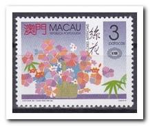 Macau 1990, Postfris MNH, Flowers - 1999-... Speciale Bestuurlijke Regio Van China