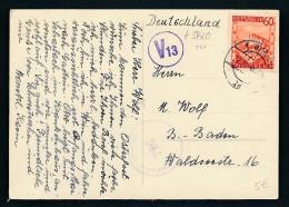 Österreich Zensur  Netter Beleg   (t5420 ) Siehe Scan - 1945-60 Briefe U. Dokumente