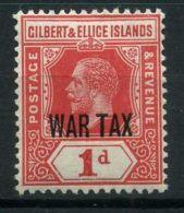 GILBERT & ELLICE ( POSTE ) : Y&T N°  25  TIMBRE  NEUF  AVEC  TRACE  DE  CHARNIERE , A  VOIR . - Non Classés