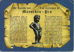 Bruxelles (Belgio) Manneken-Pis, De Legende, La Leggenda - Personaggi Famosi
