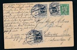 D.-Reich Karte Mit Nachporto Polen Beleg   (t5986 ) Siehe Scan - Polen