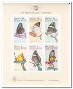 Macau 1985, Postfris MNH, Flowers, Butterflies - 1999-... Speciale Bestuurlijke Regio Van China