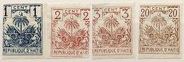 (I.B) Haiti Postal : Republique D'Haiti Collection (imperforate) - Haiti