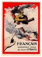 (I.B) France Cinderella : Great War Anti-German Propoganda Stamp - Europe (Other)
