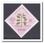 Macau 1958, Postfris MNH, Plants - 1999-... Speciale Bestuurlijke Regio Van China