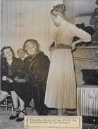 FRANCOISE ROSAY FIDELE DES COLLECTIONS/ MARCELLE CHAUMONT / PHOTO VERITABLE KEYSTONE ANNEES 40.50 - Personalità