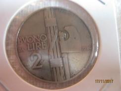 Buono 2 Lire 1926 - 1861-1946 : Regno