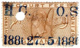 (I.B) India Revenue : Court Fee 8a - India (...-1947)