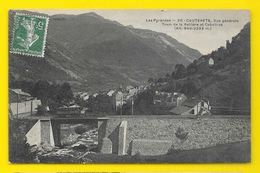 CAUTERETS Vue Générale Tram De La Raillère Et Cabaliros () Hautes Pyrénées (65) - Cauterets