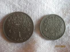 Portugal: 1 Escudo + 50 Centavos 1952 - Azores