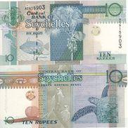 SEYCHELLES   10   RUPEES     P36a   ( ND  1998 )  UNC. - Seychelles