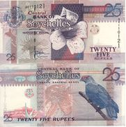 SEYCHELLES   25  RUPEES     P37a   ( ND  1998 )  UNC. - Seychellen