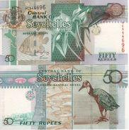 SEYCHELLES   50  RUPEES     P39A   ( ND  2004 )  UNC. - Seychelles