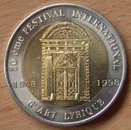 France   10 EURO Aix En Provence  Académie Européenne De Musique 1998 - Euros Of The Cities