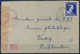 Belgique 1943 Enveloppe 80% Bruxelles - Belgique