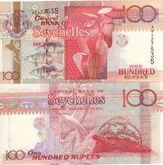SEYCHELLES   100  RUPEES     P39  ( ND  1998 )  UNC. - Seychelles