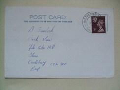 SHETLAND ISLANDS - 1979 Postcard With Baltasound Postmark - Emissions Locales