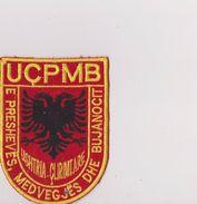 KOSOVA,  -    PATCH, ECUSSON  -   KOSOVA ARMY  /  UCPMB  / E PRESHEVES , MEDVEGJES DHE BUJANOCIT / USHITRIA  CLIRIMTARE - Escudos En Tela
