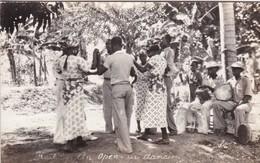 AN OPEN AIR DANCING, HAITI. CIRCA 1920's TBE - BLEUP - Danse