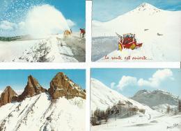 Lot N° 256 De 39 CPM De Paysages Français De La Saison Hivernale - Cartes Postales