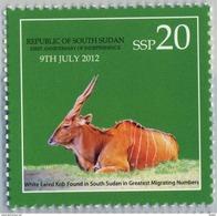 SOUTH SUDAN 2nd Issue = Süd-Sudan 20 SSP Wildlife SOUDAN Soedan - Sud-Soudan